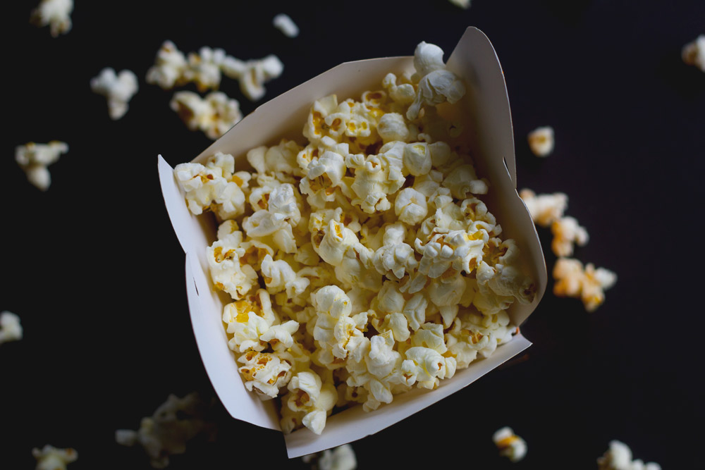 DIY kettle corn made healthy