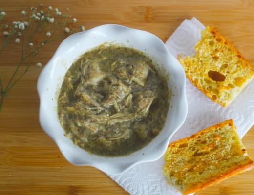 slow-cooker pesto chicken recipe
