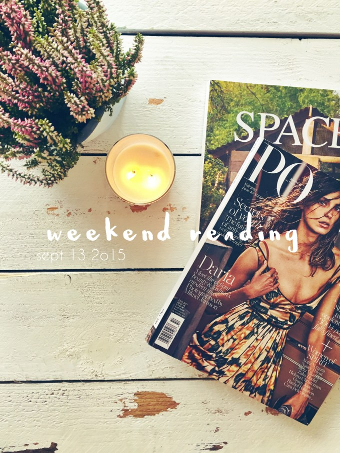 weekendreading
