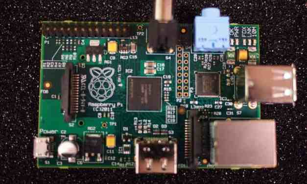 We are serving Raspberry Pi