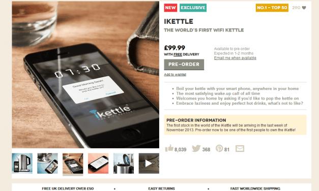 iKettle: World's First WiFi Kettle