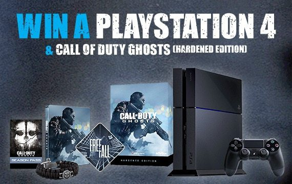 WIN A PLAYSTATION 4 & CALL OF DUTY GHOSTS via Music Magpie