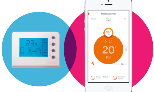 Hive thermostat can now respond to a home owner's location similar to Tado