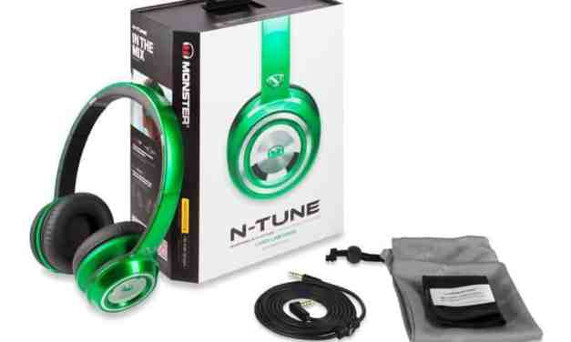 Monster Ntune Headphones; Nick Cannon's Vision