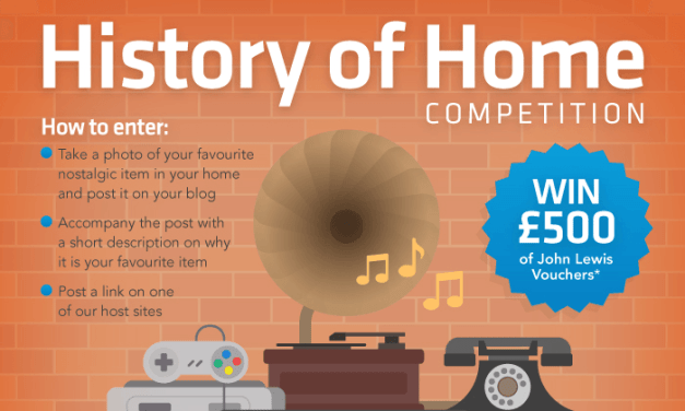 Win £500 John Lewis Vouchers in the British Gas History of Home Competition