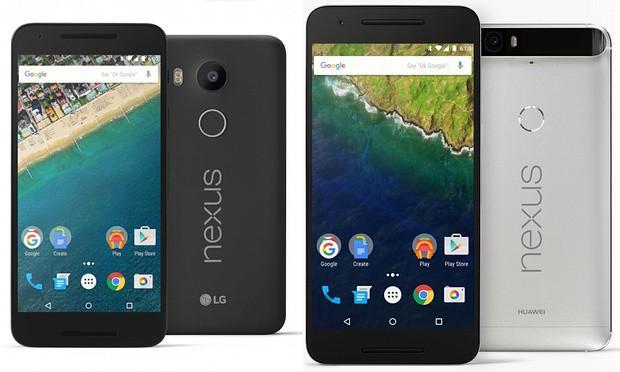 Google Nexus 6P, Nexus 5X Smartphones Announced