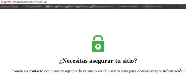 Intento de ingreso vía SSL