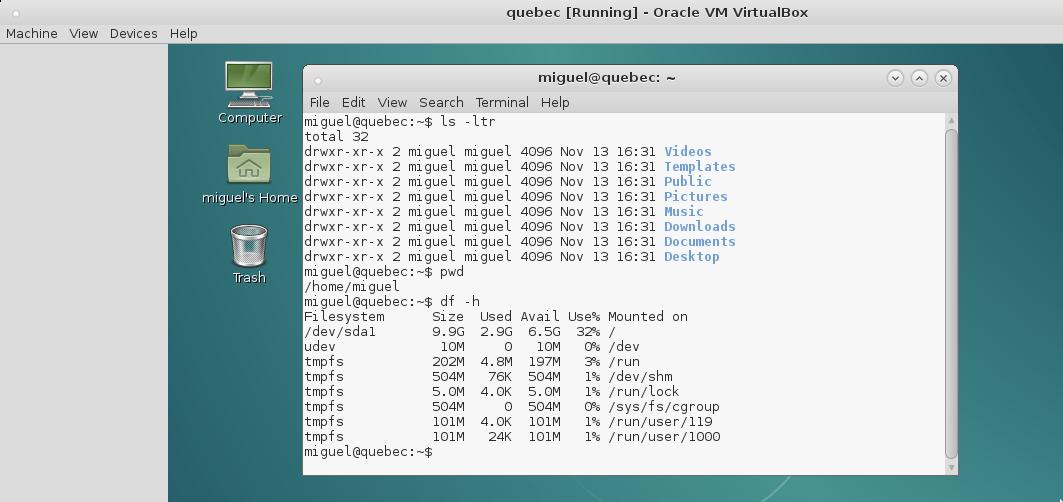 Mis primeros pasos con Linux