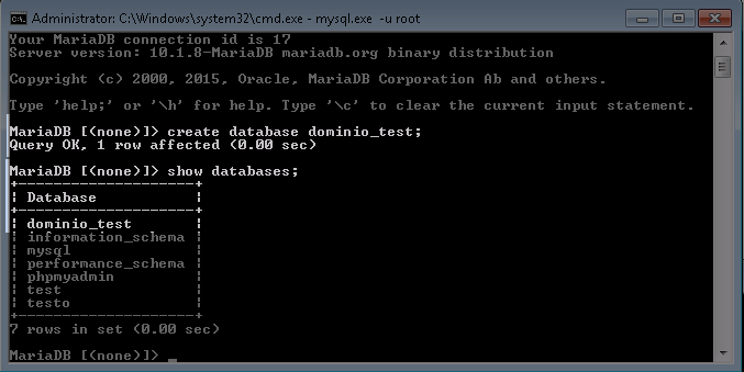 mysql_create_database