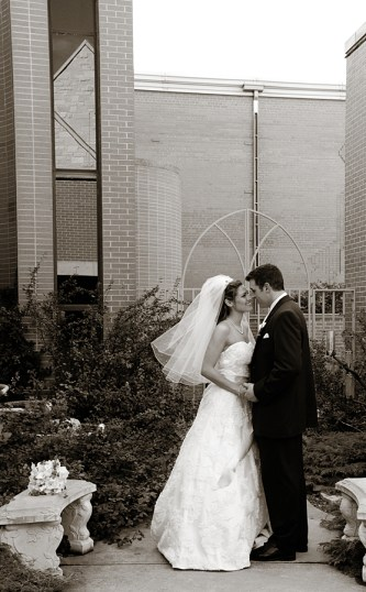 1-W-bride-groom-outdoors-church