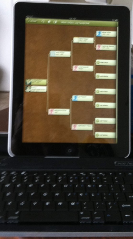 Portable Genealogy ... Ancestry.com 's  iPad/iPhone App