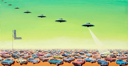 UFOs Enter Buick World