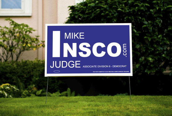 Mike Insco - Yard Sign