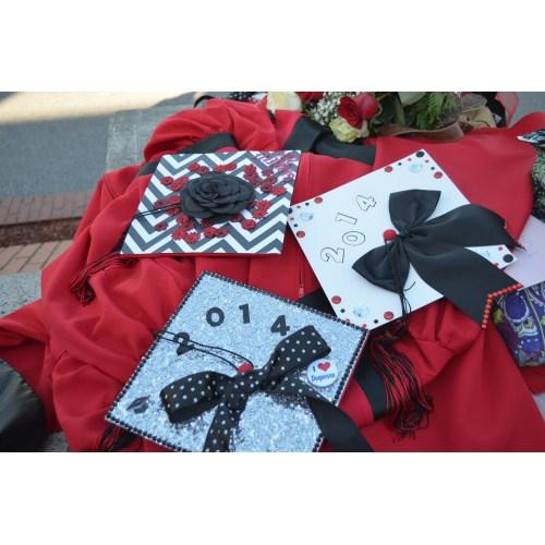 Medium Crop Of Decorated Graduation Caps