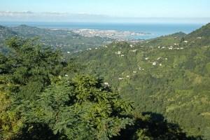 The view back over Batumi, Georgia.