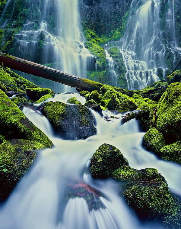 Proxy Falls, Three Sisters Wilderness Area, Oregon