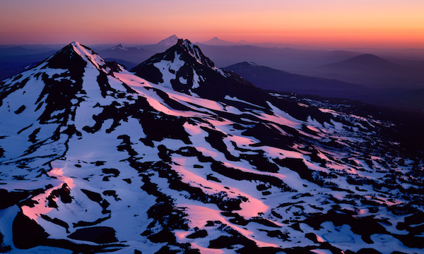 """Summit Sunrise"", Three Sisters Wilderness Area"