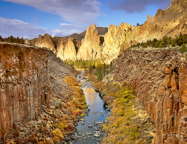 """""""Pinnacles of Light"""", Smith Rock State Park"""