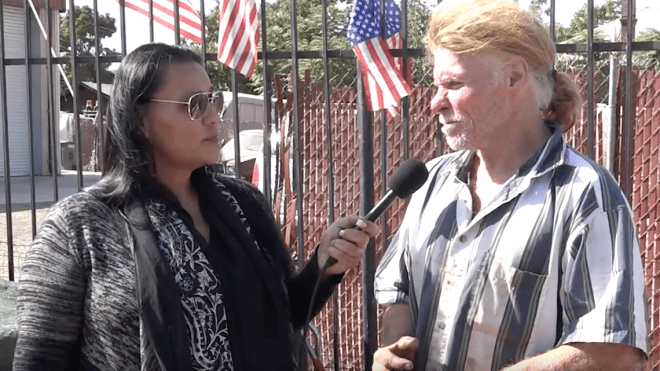 Desiree Martinez interviews Jerry Mulford about the Homeless No Camping ordinance.