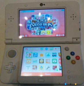 The New 3DS opened up