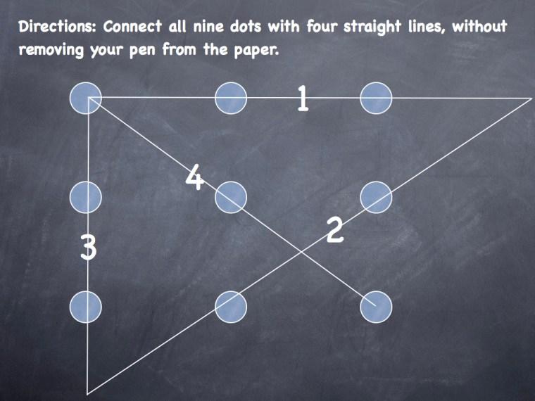 Dots Puzzle Solution