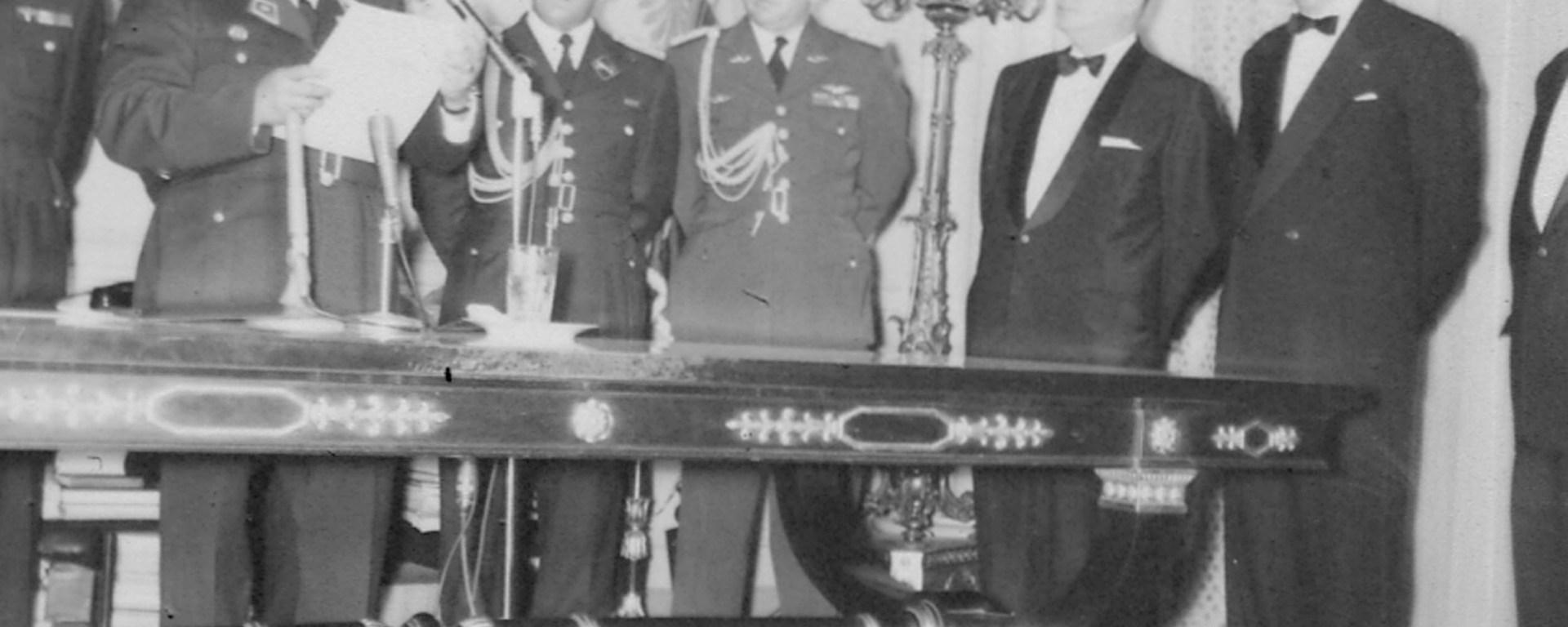 Alocución de Año Nuevo del General Pérez Jiménez 31--12-1957 Milagros Socorro