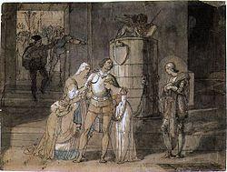 Il dipinto di Hayez che raffigura il conte di Carmagnola (1820)