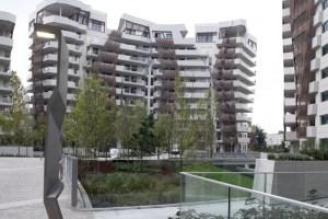 Giardini pensili City Life - Residenze di Via Spinola progettate da Daniel Libeskind (MI)