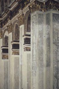 Elementi architettonici illusori (foto Bams Rodella/Jaca Book)