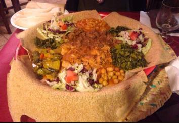 Un piatto africano tipico che possiamo trovare nei ristoranti della zona