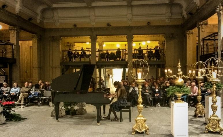 Una delle belle serate musicali organizzate alla Palazzina Liberty da Pianofriends