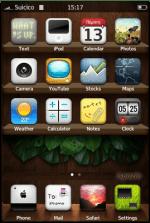 iWood iPhone Theme