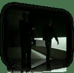 Hallway, iPhone ad …