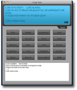 Crazy Text, για effects σε κείμενο