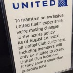 United Club Signs