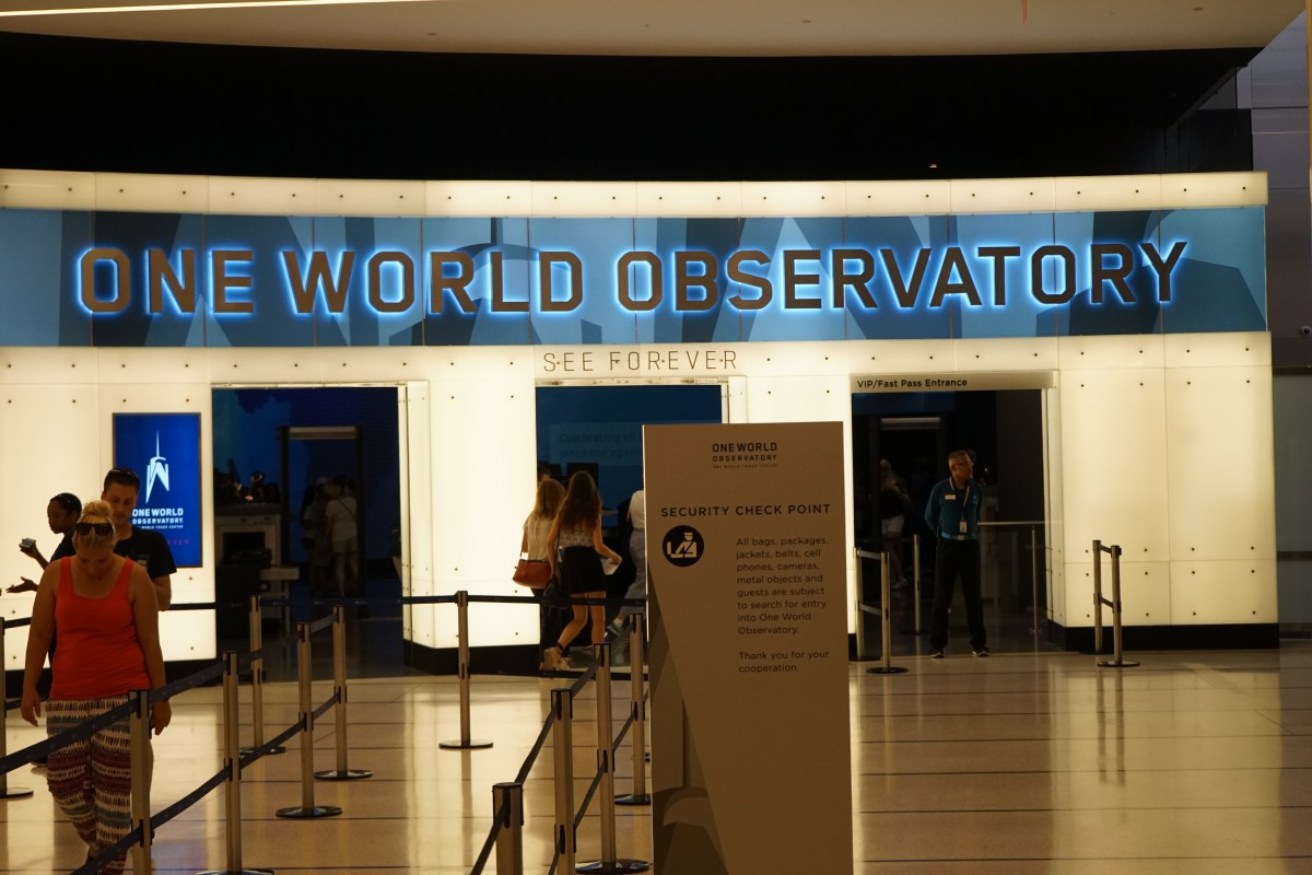 A visit to to One World Observatory, New York
