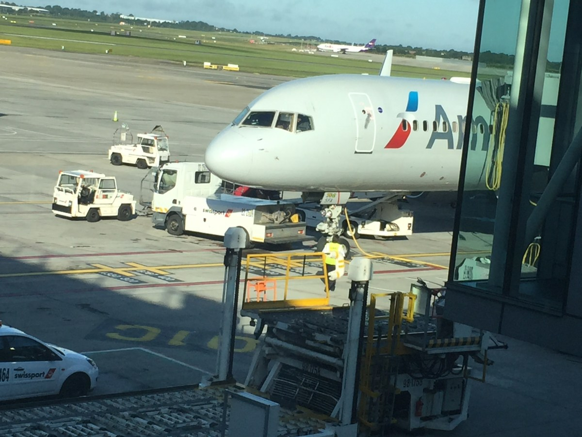 American Airlines 757 service from Dublin to New York - Business Class
