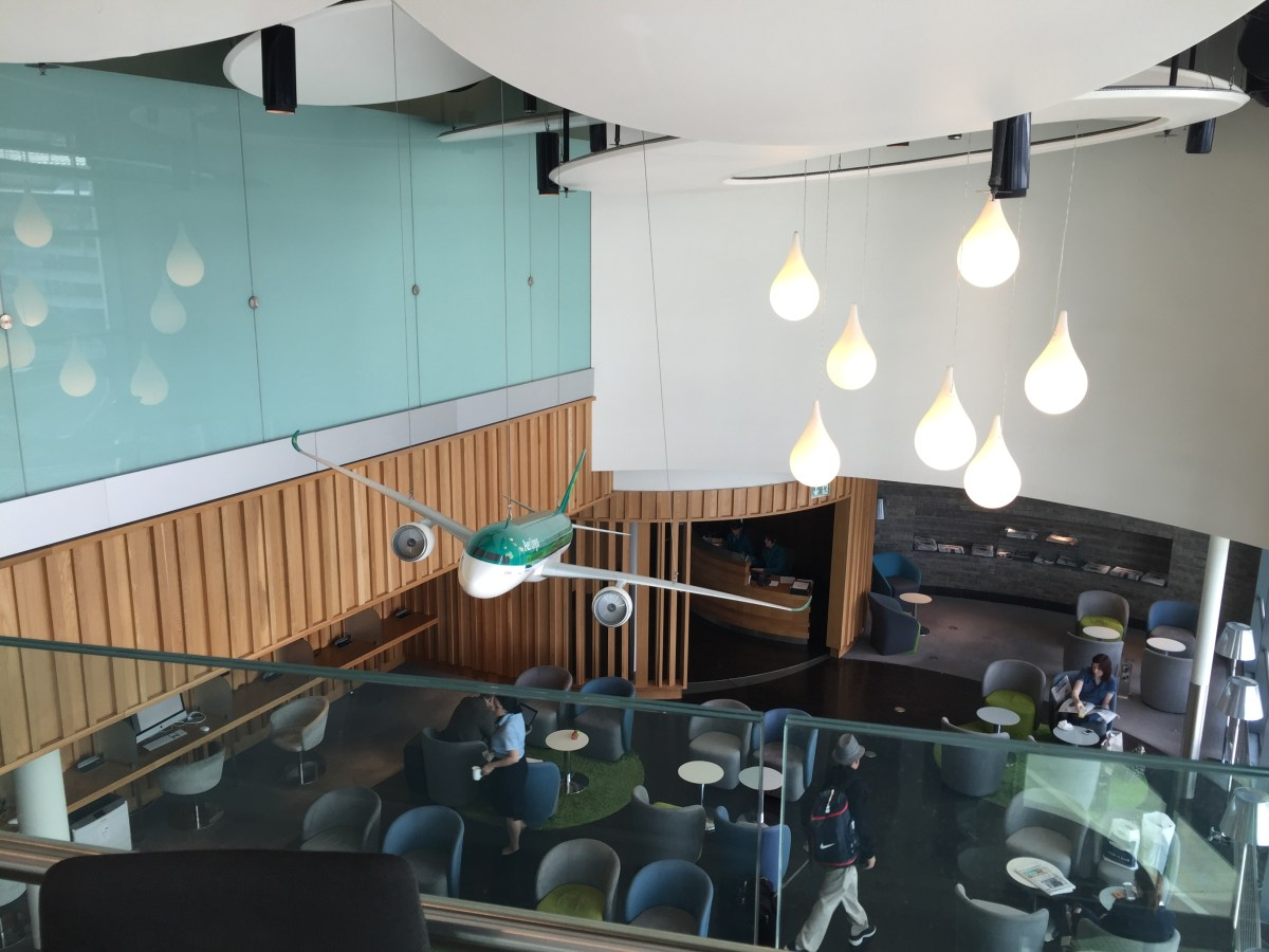 REVIEW: Aer Lingus Lounge, Terminal 2 Dublin Airport