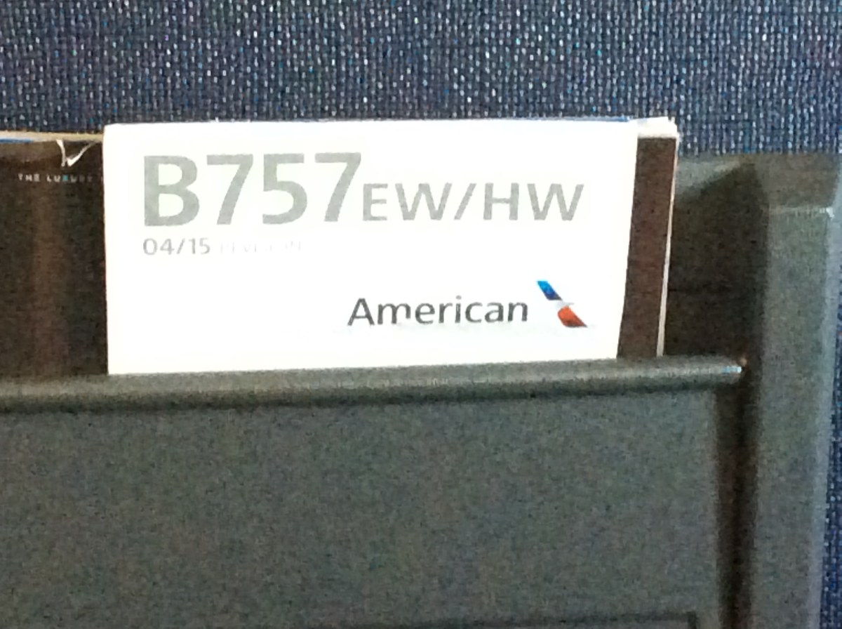 REVIEW: American Airlines - Phoenix to Honolulu, First Class