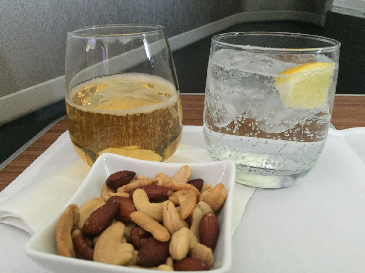 Trip Report: London to JFK, AA Business Class on a converted 777-200