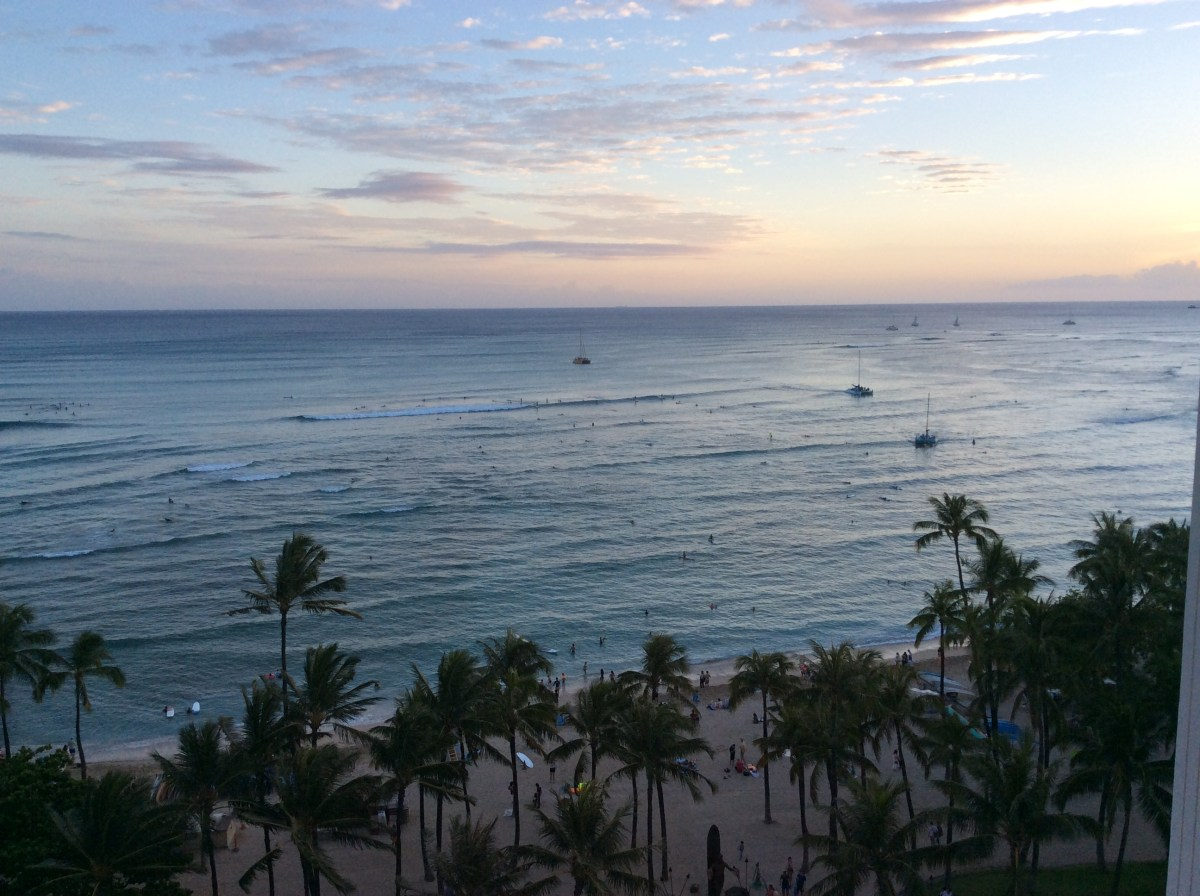 Some modest changes at the Hyatt Regency, Waikiki