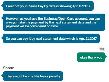 quick clarification on the amex biz please pay by date miles per day
