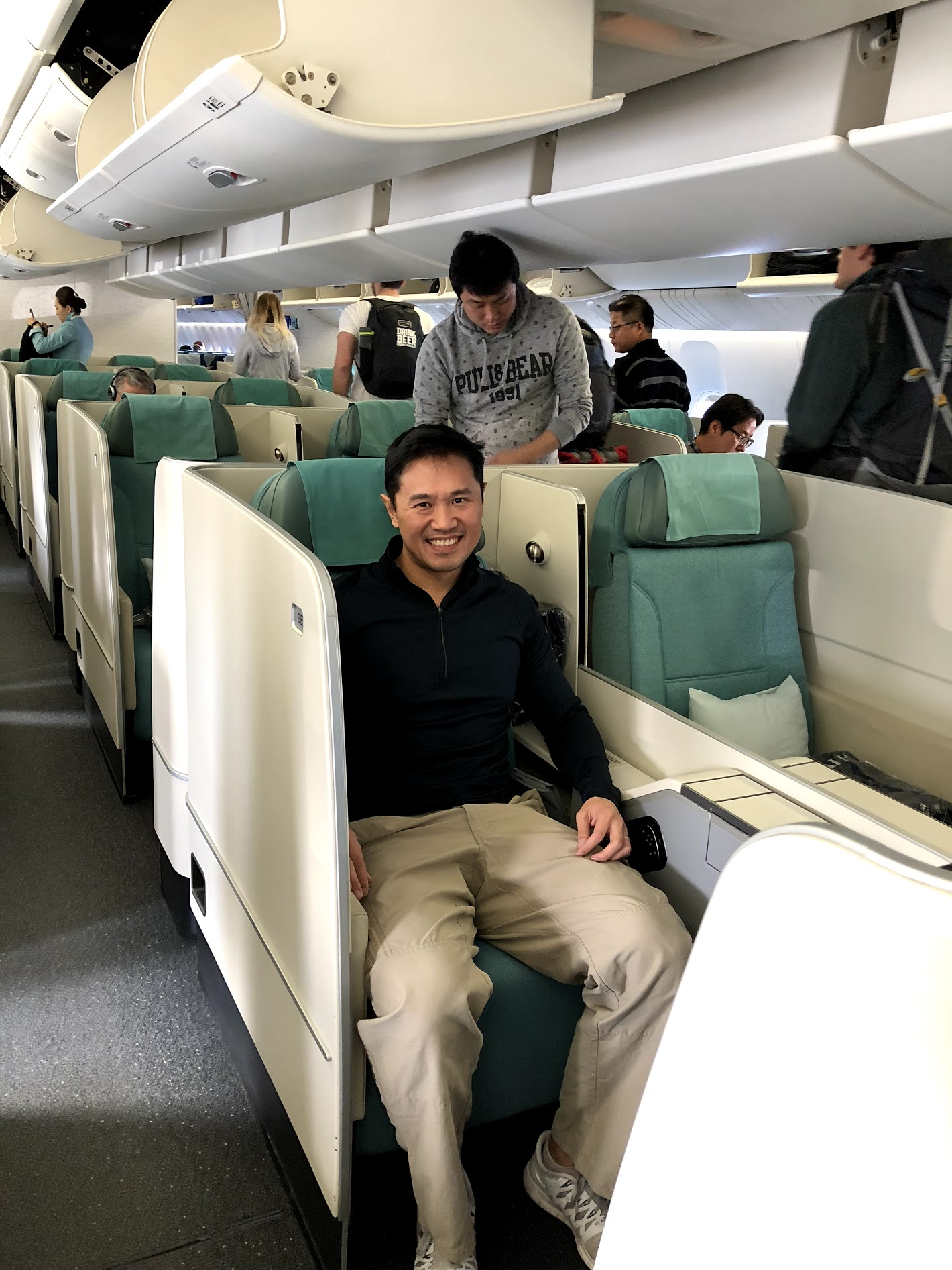 review korean air business class 777 from seattle to. Black Bedroom Furniture Sets. Home Design Ideas