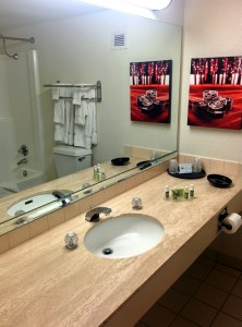The bathroom of our room.