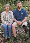 Deanna Schwartz and her son, Dean Schwartz
