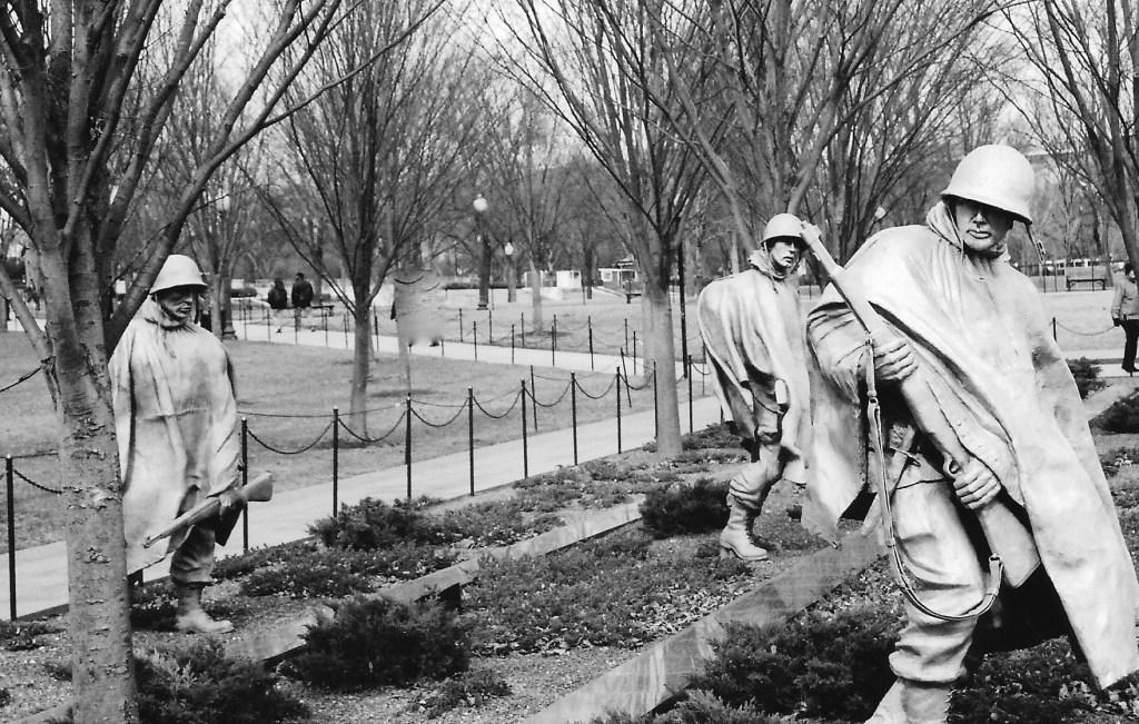 Korean War Memorial in Washington, DC (Author photo)