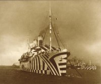 Razzle Dazzle patterns would make ships harder to identify and track.
