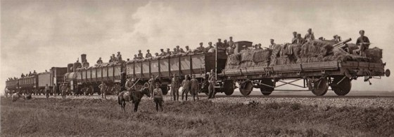 A train of the Czech Legion.