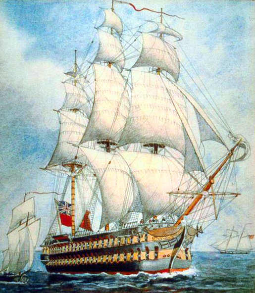 HMS St. Lawrence – The Mightiest Ship To Never Sail the Seas