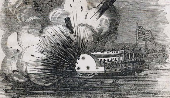 Was a Confederate secret weapon responsible for a number of ship explosions during and after the Civil War?